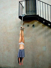 Extreme hanging