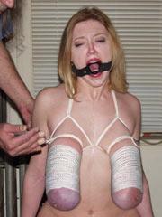 Tied very hard