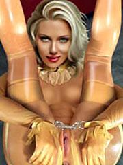 Scarlett Johansson and Salma Hayek tortured in bondage