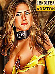 Jennifer Aniston is a slave