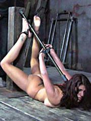 Girl caged and tortured