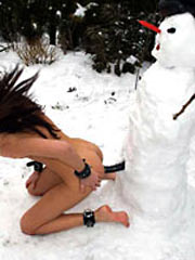 Fucked by Snowman