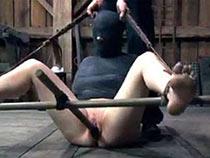 Torture of half-mummified girl