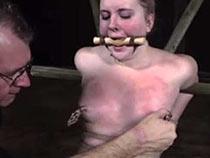 Kylie gets BDSM session