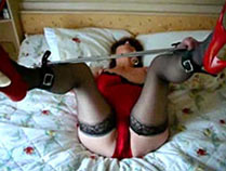 Submissive girl gets enjoyment