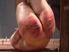 Hard tortured girl