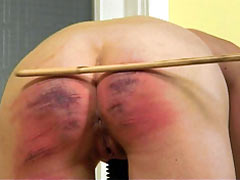 Caning till she cant sit