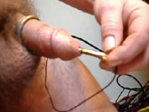 Urethra in electro pain