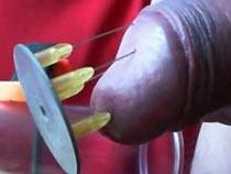 Needles and vaccum pump