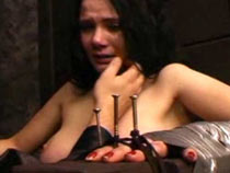 �rying girl first time tortured