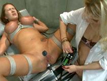 Pervert doctor torturing her patient